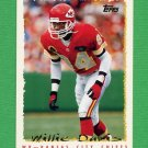 1995 Topps Football #071 Willie Davis - Kansas City Chiefs