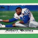 1995 Topps Football #068 Robert Massey - Detroit Lions