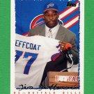 1995 Topps Football #063 Jim Jeffcoat - Buffalo Bills