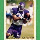 1995 Topps Football #048 Vencie Glenn - Minnesota Vikings
