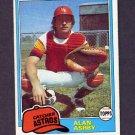 1981 Topps Baseball #696 Alan Ashby - Houston Astros Ex