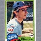 1981 Topps Baseball #694 Bud Harrelson - Texas Rangers
