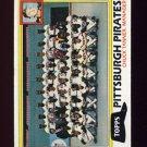1981 Topps Baseball #683 Pittsburgh Pirates Team Checklist / Chuck Tanner