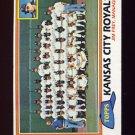 1981 Topps Baseball #667 Kansas City Royals Team Checklist / Jim Frey MG
