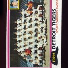 1981 Topps Baseball #666 Detroit Tigers Team Checklist / Sparky Anderson MG
