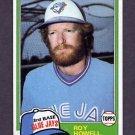 1981 Topps Baseball #581 Roy Howell - Toronto Blue Jays