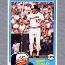 1981 Topps Baseball #543 Terry Crowley - Baltimore Orioles ExMt