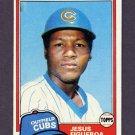 1981 Topps Baseball #533 Jesus Figueroa - Chicago Cubs
