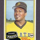 1981 Topps Baseball #518 Grant Jackson - Pittsburgh Pirates