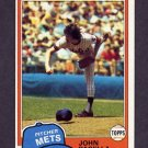 1981 Topps Baseball #414 John Pacella RC - New York Mets