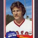1981 Topps Baseball #396 Bill Campbell - Boston Red Sox