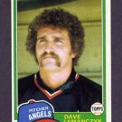1981 Topps Baseball #391 Dave Lemanczyk - California Angels NM-M