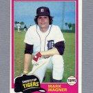 1981 Topps Baseball #358 Mark Wagner - Detroit Tigers ExMt