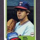 1981 Topps Baseball #305 Ken Clay - New York Yankees