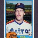 1981 Topps Baseball #253 Dave Bergman - Houston Astros ExMt