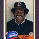 1981 Topps Baseball #252 Victor Cruz - Cleveland Indians ExMt
