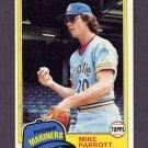 1981 Topps Baseball #187 Mike Parrott - Seattle Mariners