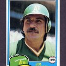 1981 Topps Baseball #178 Jim Essian - Oakland A's NM-M