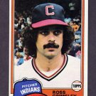 1981 Topps Baseball #170 Ross Grimsley - Cleveland Indians NM-M