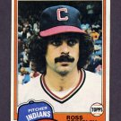 1981 Topps Baseball #170 Ross Grimsley - Cleveland Indians Ex