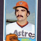 1981 Topps Baseball #148 Randy Niemann - Houston Astros