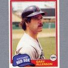 1981 Topps Baseball #128 Gary Allenson - Boston Red Sox NM-M