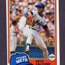 1981 Topps Baseball #117 Pete Falcone - New York Mets