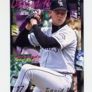 1995 Fleer Baseball #525 David Nied - Colorado Rockies