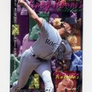1995 Fleer Baseball #520 Greg W. Harris - Colorado Rockies