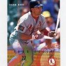 1995 Fleer Baseball #513 Todd Zeile - St. Louis Cardinals