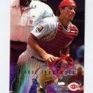 1995 Fleer Baseball #450 Eddie Taubensee - Cincinnati Reds