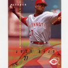 1995 Fleer Baseball #443 Jose Rijo - Cincinnati Reds
