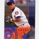 1995 Fleer Baseball #423 Rey Sanchez - Chicago Cubs
