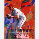 1995 Fleer Baseball #401 Mickey Morandini - Philadelphia Phillies
