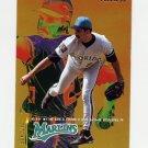 1995 Fleer Baseball #324 Luis Aquino - Florida Marlins