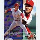 1995 Fleer Baseball #282 Cris Carpenter - Texas Rangers
