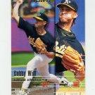 1995 Fleer Baseball #257 Bobby Witt - Oakland A's