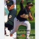 1995 Fleer Baseball #252 Carlos Reyes - Oakland A's