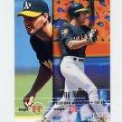 1995 Fleer Baseball #250 Troy Neel - Oakland A's