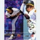 1995 Fleer Baseball #238 Mark Acre - Oakland A's