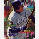 1995 Fleer Baseball #160 Bob Hamelin - Kansas City Royals