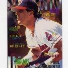 1995 Fleer Baseball #148 Paul Sorrento - Cleveland Indians