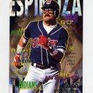 1995 Fleer Baseball #134 Alvaro Espinoza - Cleveland Indians