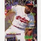 1995 Fleer Baseball #130 Sandy Alomar Jr. - Cleveland Indians