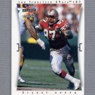 1997 Score Football #208 Bryant Young - San Francisco 49ers
