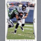 1997 Score Football #174 Willie Jackson - Jacksonville Jaguars