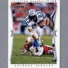 1997 Score Football #170 Anthony Johnson - Carolina Panthers