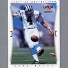 1997 Score Football #123 John Kasay - Carolina Panthers