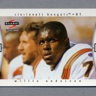 1997 Score Football #050 Willie Anderson - Cincinnati Bengals