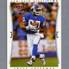 1997 Score Football #013 Chris Calloway - New York Giants
